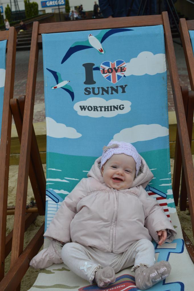 I love sunny Worthing