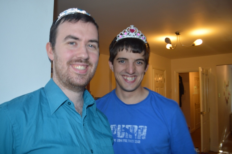 men in tiaras