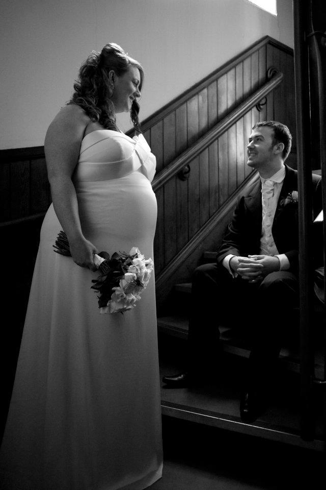 pregnant brides, dontcallmestepmummy, 6 months pregnant