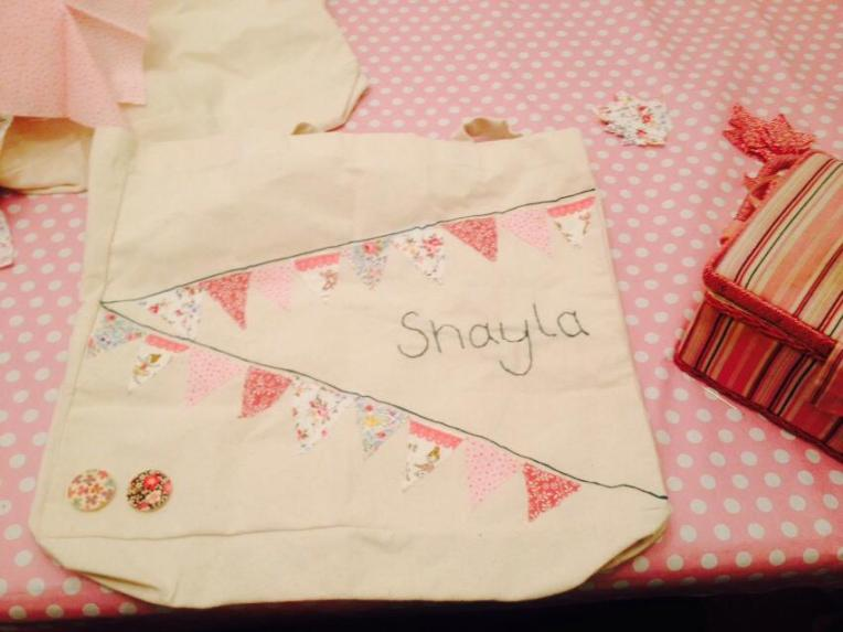 DIY sports bag, dontcallmestepmummy, crafting