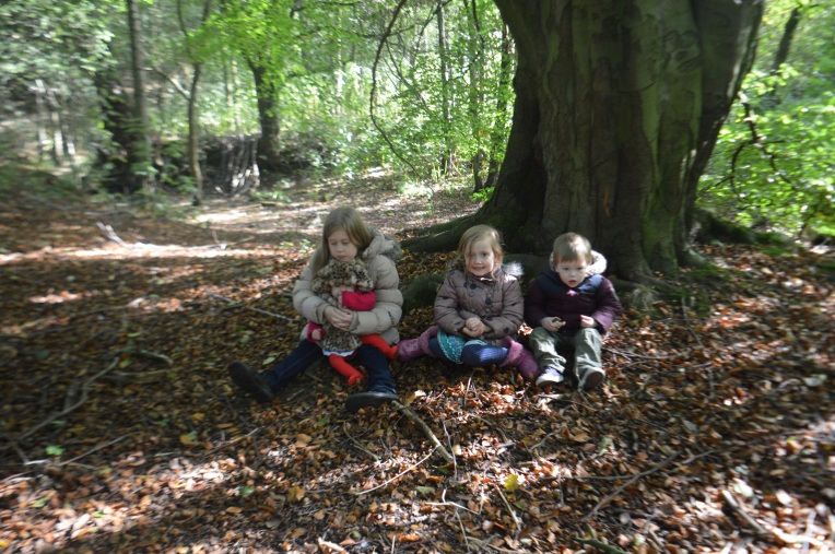 siblings in October, dontcallmestepmummy, family portrait projects, woodlands, blended family, stepmum