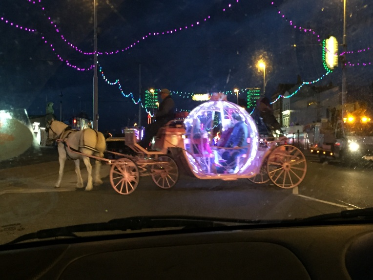 blackpool illuminations, dontcallmestepmummy, the ordinary moments, cinderella carriage