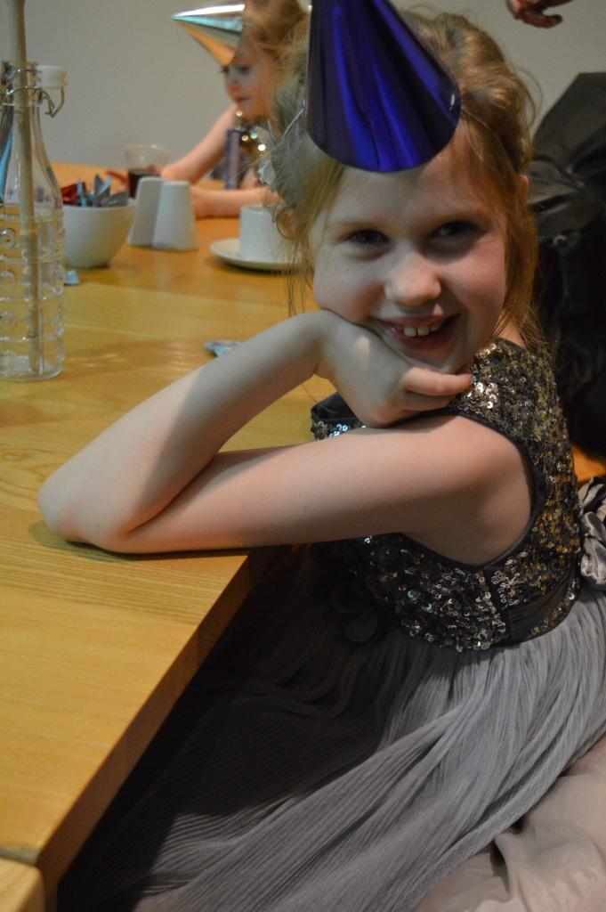 unicorn party hats, beautiful children, Christmas, sparkle, silver, dontcallmestepmummy, blended family