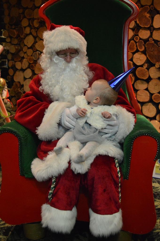Santa's knee, Father Christmas, Santa's grotto, dinner with Father Christmas, Barton Grange, beautiful children, Christmas, dontcallmestepmummy, blended family