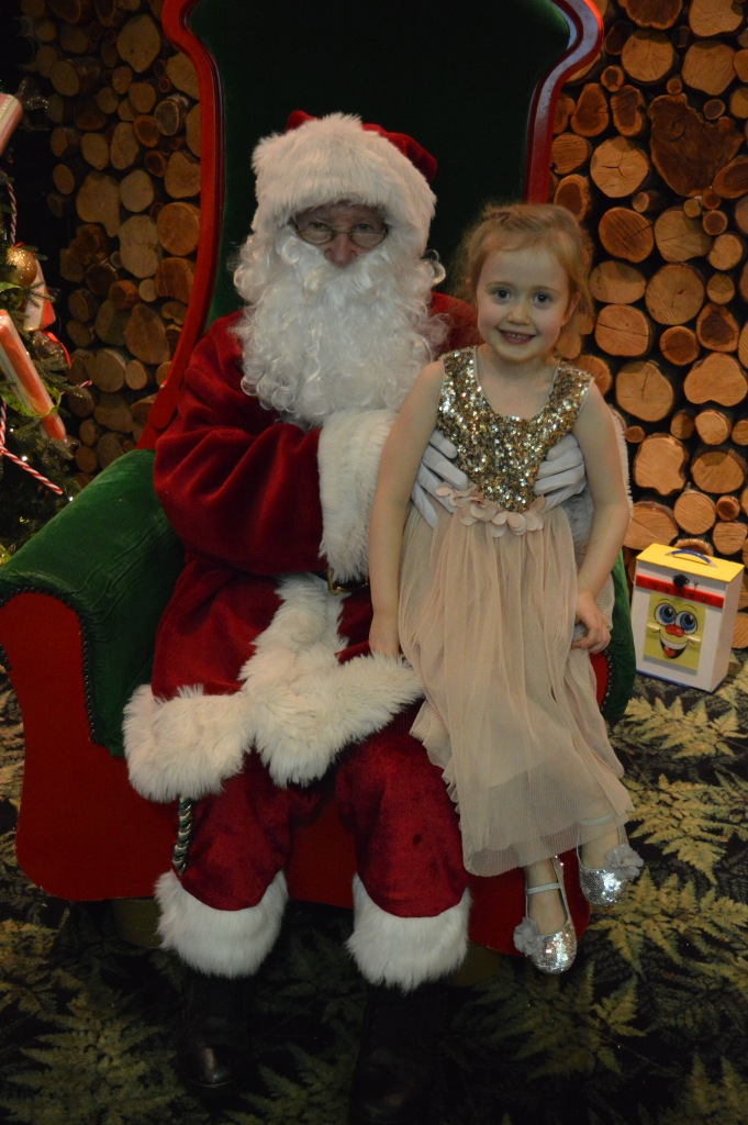 Santa's knee, Father Christmas, Santa's grotto, dinner with Father Christmas, Barton Grange, beautiful children, Christmas, dontcallmestepmummy, blended family