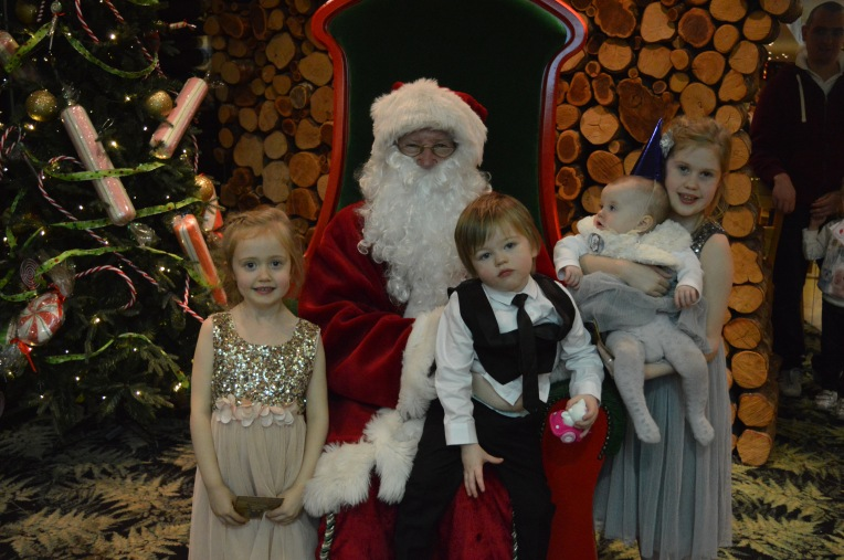Christmas, Dinner with Santa, Barton Grange, Santa's Grotto, Father Christmas, dontcallmestepmummy, blended family