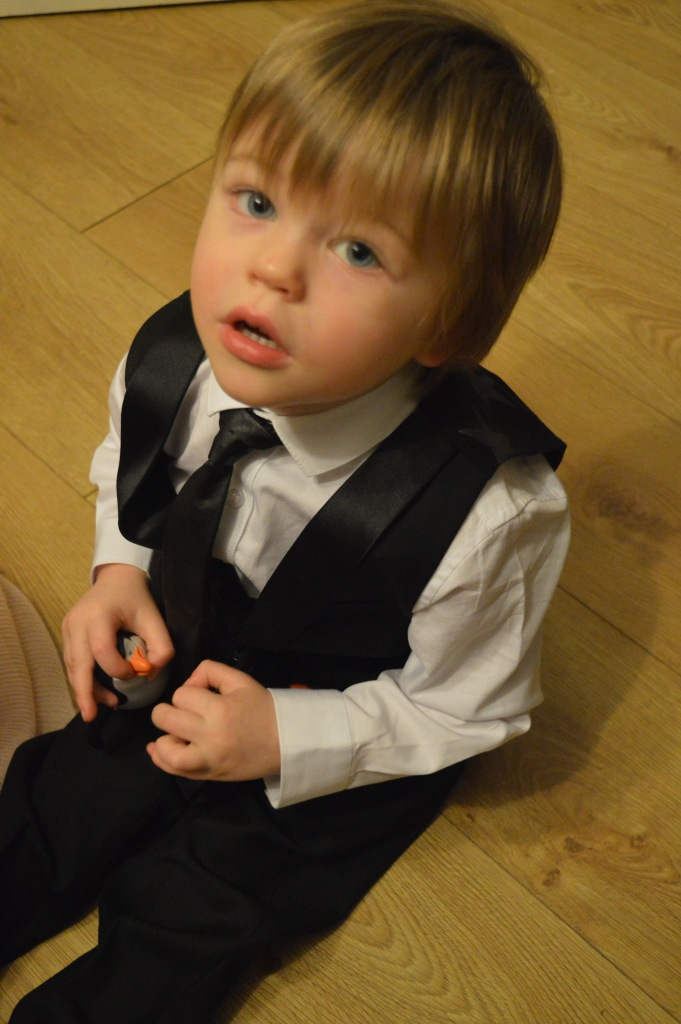 toddlers in suits, Christmas, Next Signature, boys in suits, boys in ties, dontcallmestepmummy, blended family,