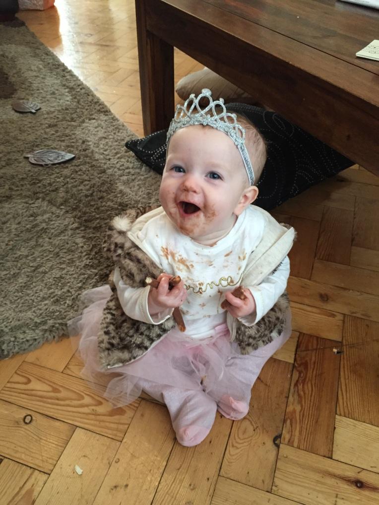 living arrows, baby girl first birthday, dontcallmestepmummy, blended family