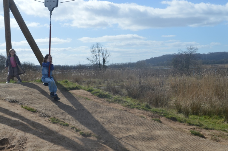 living arrows, dontcallmestepmummy, blended family, happy children, girls, adventure park, zip wire
