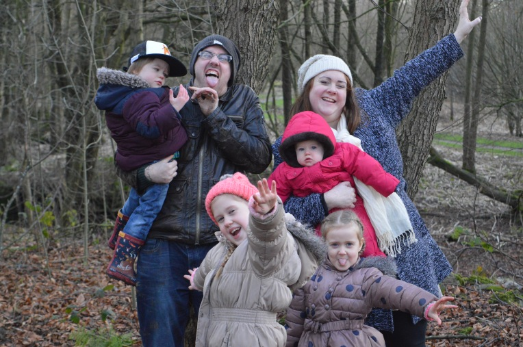 me and mine, dontcallmestepmummy, mummy blog, blended family, family portrait projects, family photo, woodland