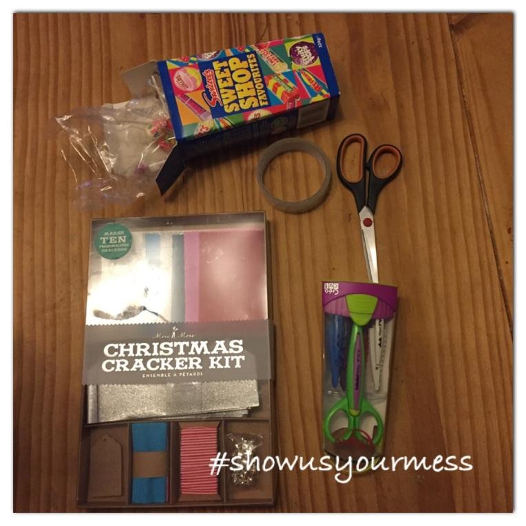 BOSCH Christmas Crackers, showusyourmess, DIY Christmas crafts, dontcallmestepmummy, blended family, crafts for children