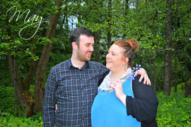 dontcallmestepmummy, parent blogger, me and you may, family portrait projects, couple, bluebells, woodlands, dusk