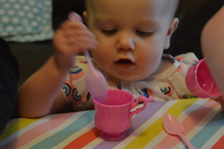 the ordinary moments, dontcallmestepmummy, mummy blog, blended family, tea party, imaginary play
