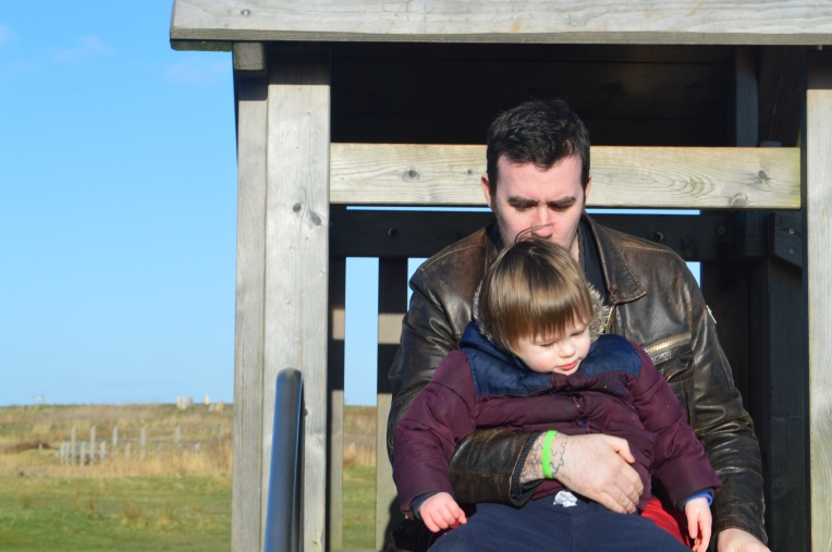 country kids, Our Great 2015 Outdoors Bucketlist, dontcallmestepmummy, blended family, mummy blog, nature reserve, winter days, Brockholes, father and son,