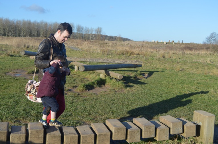 country kids, Our Great 2015 Outdoors Bucketlist, dontcallmestepmummy, blended family, mummy blog, nature reserve, winter days, Brockholes, father and son