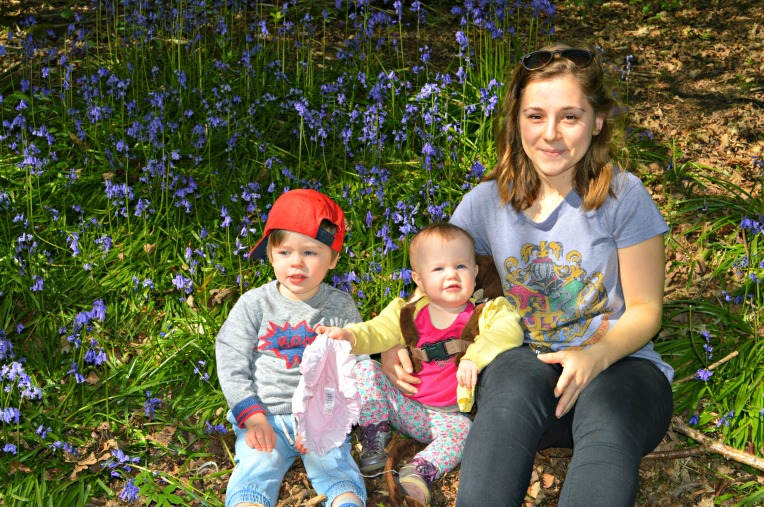 our aupair, aupair life, bluebells, dontcallmestepmummy, mummy blog, parent blog, Eden's first walk