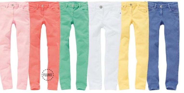 Next, skinny jeans, fashion for children