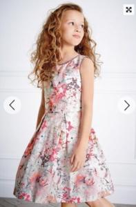 prom dress, fashion for children, Next