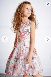 prom dress, fashion for children, Next
