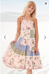 maxi dress, Next, fashion for children