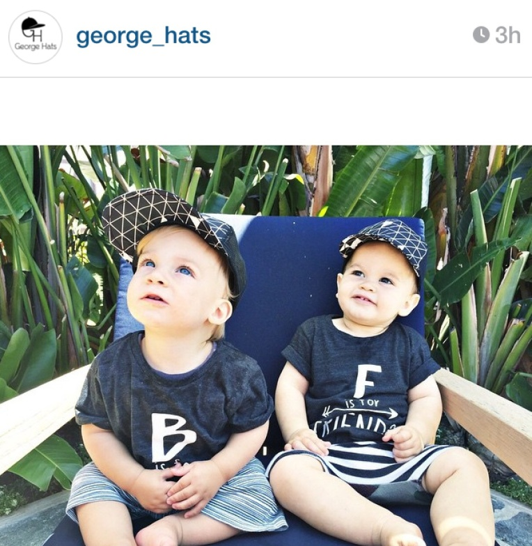 George Hats, trucker hat, fashion for chidlren