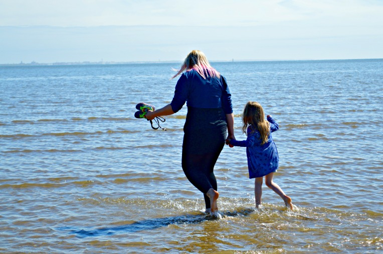 ordinary moments, sun, sea, sinking sand, beautiful children, seaside, cute babies, toddlers, dontcallmestepmummy, mummy blog, blended family, parent vlogger