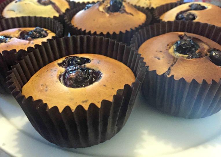 gluten-free, blueberry muffins, Don't Call Me Step Mummy, mummy blogger