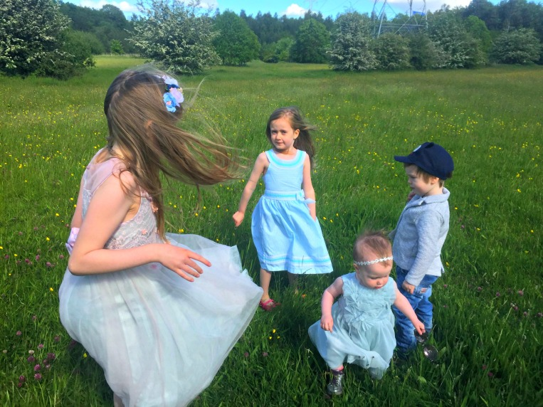 blended family, siblings, dont call me step mummy, mummy blogger, step mum, four children, beautiful field, the ordinary moments